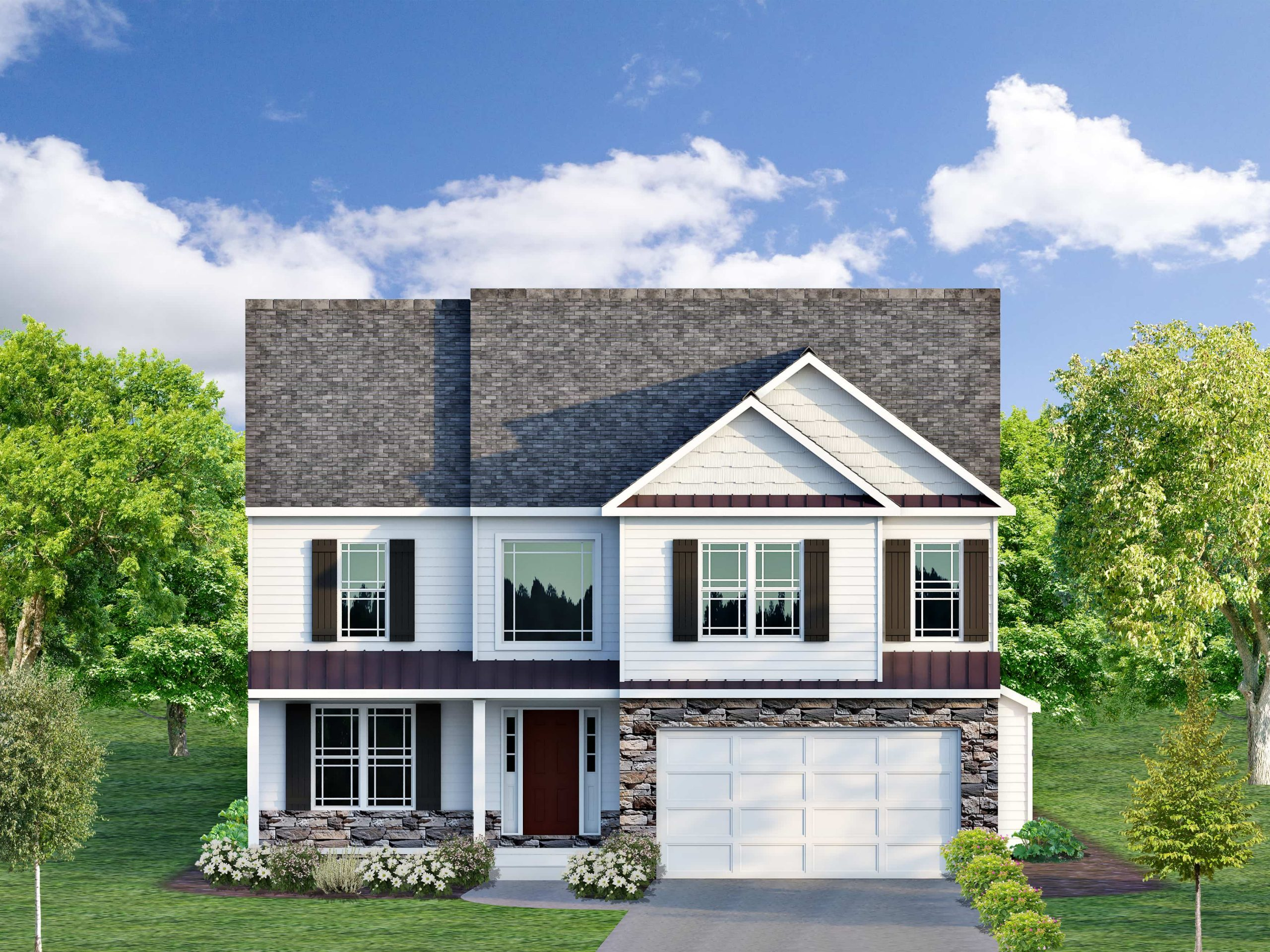 How a Beautiful Exterior Facade Can Enhance the Beauty of Your New Home
