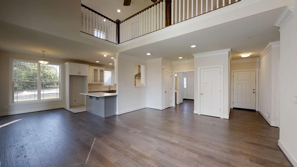 The Benefits of Open Floor Concepts and Volume Ceilings in New Constructed Homes